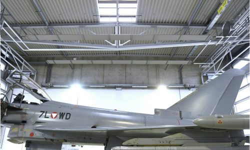 Themenbild eurofighter im fliegerhorst hinterstoisser