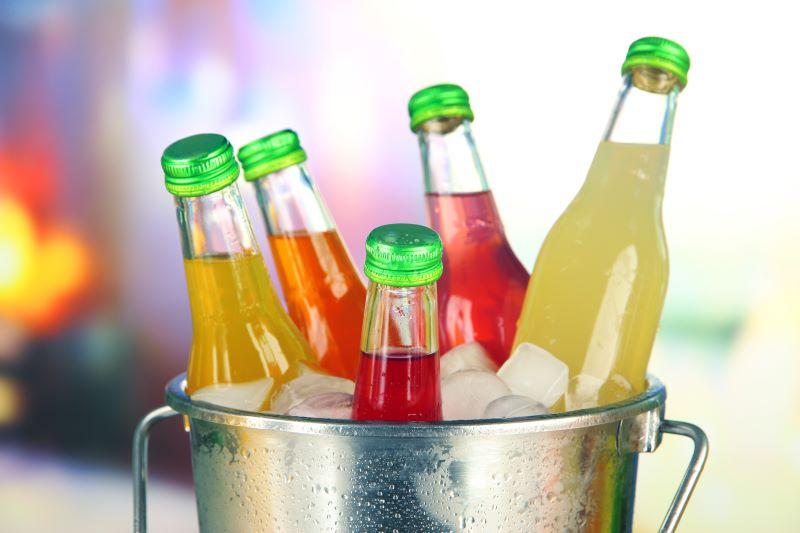 Kältetechniker Sujetbild (Limo-Flaschen)